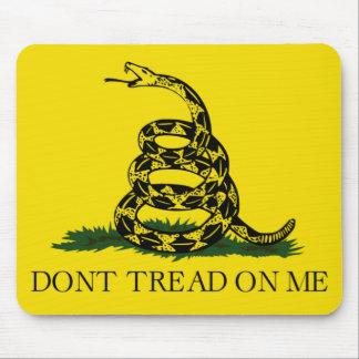 私のガズデンの旗で踏まないで下さい マウスパッド