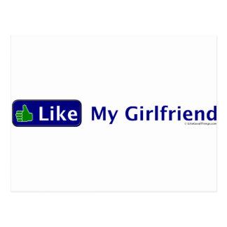 私のガールフレンドのように ポストカード