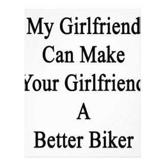 私のガールフレンドはあなたのガールフレンドによりよいBiをすることができます レターヘッド