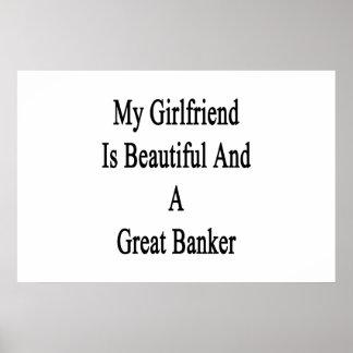 私のガールフレンドは美しく、すばらしい銀行家です ポスター