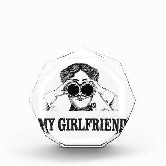 私のガールフレンド 表彰盾