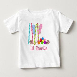 私のキャンデー、棒つきキャンデーおよびGumballs Oh ベビーTシャツ