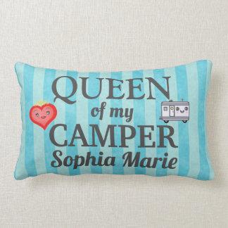 私のキャンピングカーのLumbarの枕のおもしろいな女王 ランバークッション
