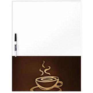 私のコップのコーヒー ホワイトボード