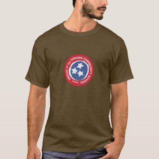 私のコミュニティースクールの誇りを持った Tシャツ