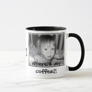 私のコーヒーがあるところ!! 、コーヒー!! マグカップ