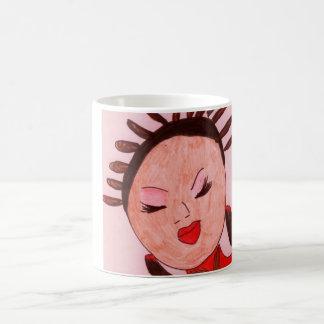 私のコーヒー女の子のマグ コーヒーマグカップ