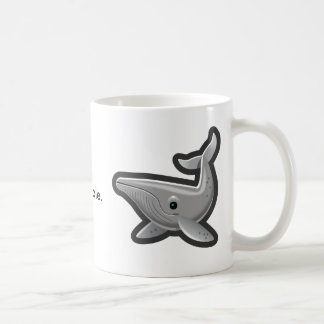 私のザトウクジラを離れた手 コーヒーマグカップ