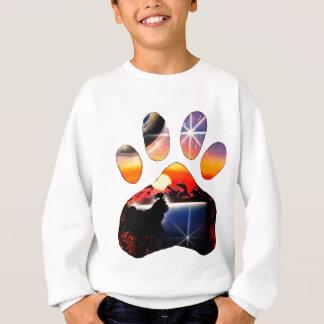 私のシーズー(犬) Tzuを愛して下さい スウェットシャツ