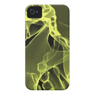 私のスカルの黄色のX線撮影をして下さい Case-Mate iPhone 4 ケース
