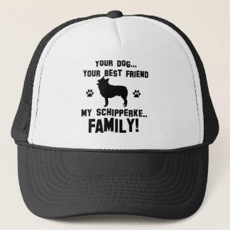 私のスキッパーキ家族、あなたの犬ちょうど親友 キャップ