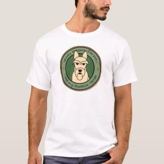 私のスコッチテリアを愛して下さい Tシャツ