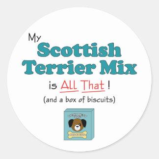 私のスコットランドテリアの組合せはすべてそれです! ラウンドシール