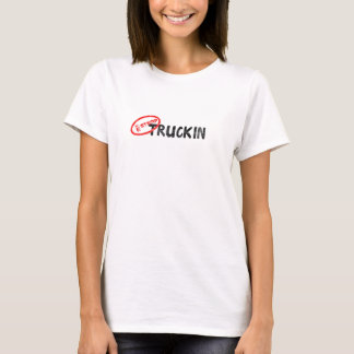 私のスタンプかTruckin Tシャツ