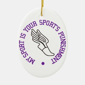 私のスポーツはあります セラミックオーナメント