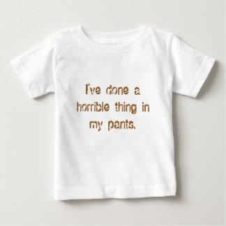 私のズボンに何かあります ベビーTシャツ