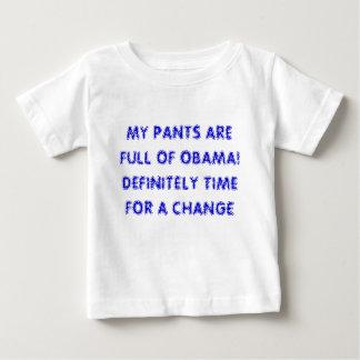 私のズボンはオバマの完全です! 完全に時間の… ベビーTシャツ