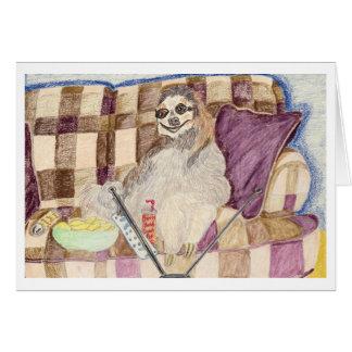 私のソファからのあなたのへの挨拶 カード