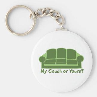 私のソファまたはあなたのか。 キーホルダー