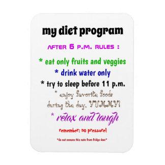 私のダイエットプログラム磁石 マグネット