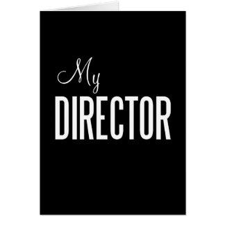 私のディレクター挨拶状(カスタム) カード