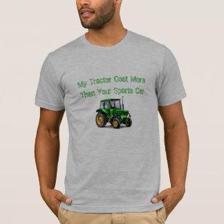 私のトラクター… Tシャツ