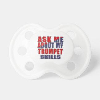 私のトランペットの技術について私に尋ねて下さい おしゃぶり
