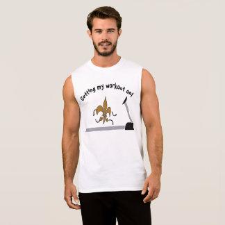 私のトレーニングを得ます 袖なしシャツ