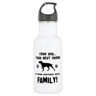 私のドイツshorthairedポインター家族、あなたの犬のjus ウォーターボトル