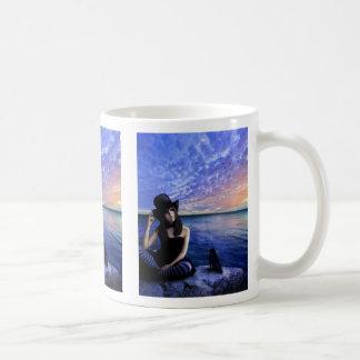 私のハートのマグのサラの詩人 コーヒーマグカップ