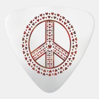 私のハートの平和 ギターピック