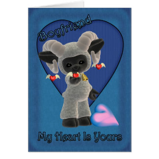 私のハートはあなたのSHのSt.のバレンタインデーカードです カード