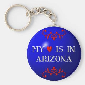私のハートはアリゾナにあります キーホルダー