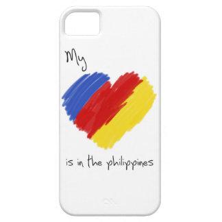 私のハートはフィリピンの宣教師お母さんの場合にあります iPhone SE/5/5s ケース