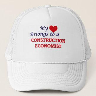 私のハートは建築の経済学者に属します キャップ
