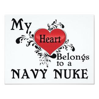 私のハートは海軍原子力に属します カード