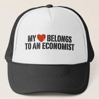 私のハートは経済学者に属します キャップ
