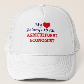 私のハートは農業経済学者に属します キャップ