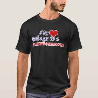 私のハートはNeuroendocrinologistに属します Tシャツ