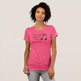 私のハートを調整して下さい --- Tシャツ-女性 Tシャツ