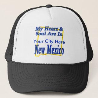 私のハート及び精神はニューメキシコにあります キャップ