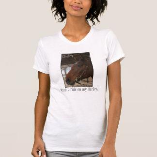 私のハーレーで乗りたいと思って下さいか。 Tシャツ