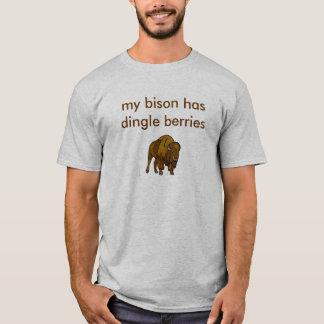 私のバイソン Tシャツ
