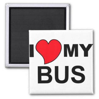 私のバス磁石を愛して下さい マグネット