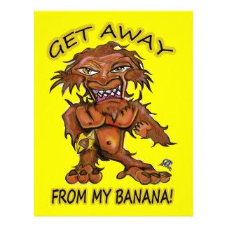 私のバナナから遠くにになって下さい レターヘッド