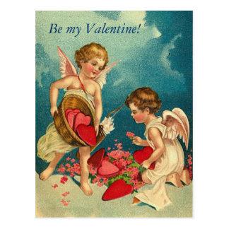私のバレンタインがあって下さい! 郵便はがき ポストカード