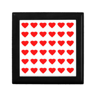 私のバレンタインのハート36Red TranspのjGibneyがあって下さい ギフトボックス