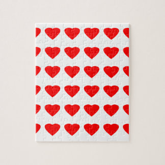 私のバレンタインのハート36Red TranspのjGibneyがあって下さい ジグソーパズル