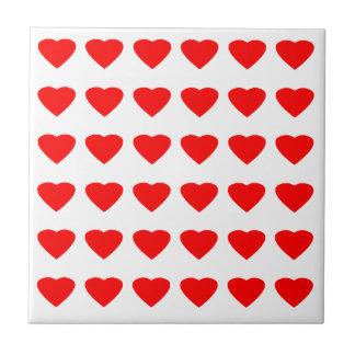 私のバレンタインのハート36Red TranspのjGibneyがあって下さい タイル