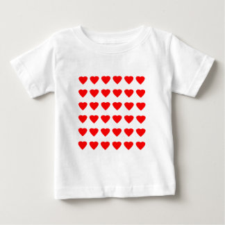 私のバレンタインのハート36Red TranspのjGibneyがあって下さい ベビーTシャツ